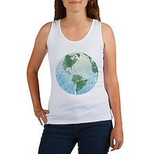Woodgrain Earth Women's Tank Top