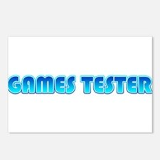 Games Tester Postcards (Package of 8)