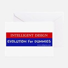 Evolution for Dummies Greeting Cards (Pk of 10