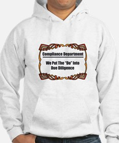 Due Diligence Compliance Hoodie
