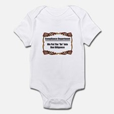 Due Diligence Compliance Infant Bodysuit