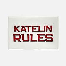 katelin rules Rectangle Magnet