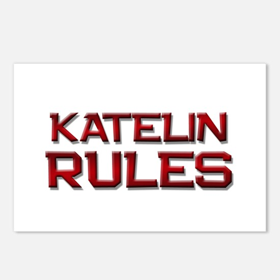 katelin rules Postcards (Package of 8)