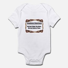 Enforce The Rules Infant Bodysuit