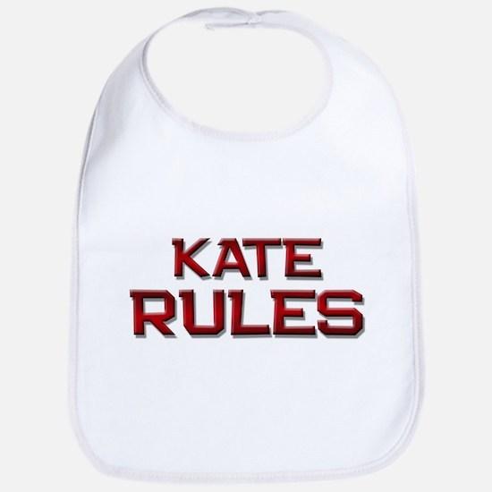 kate rules Bib