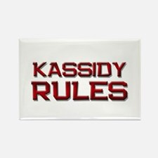kassidy rules Rectangle Magnet
