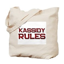 kassidy rules Tote Bag