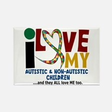 I Love My Autistic & NonAutistic Children 2 Rectan