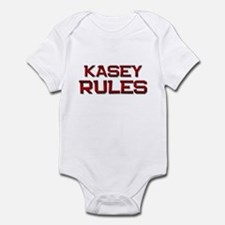 kasey rules Infant Bodysuit