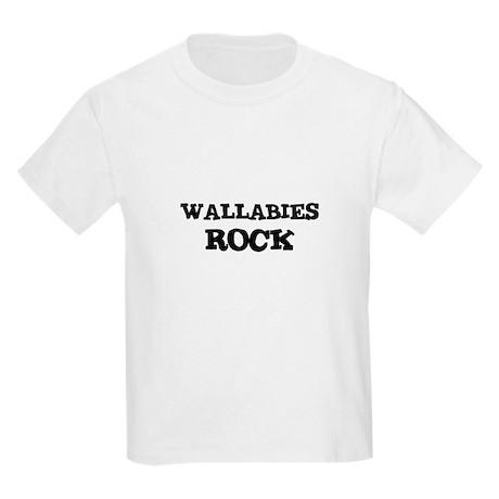WALLABIES ROCK Kids T-Shirt