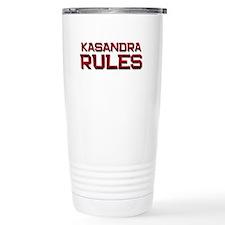 kasandra rules Travel Mug