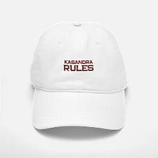 kasandra rules Baseball Baseball Cap