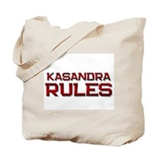 kasandra rules Tote Bag