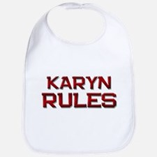 karyn rules Bib