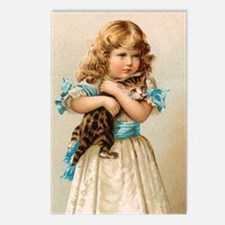"""Victorian Girl"" Postcards (Package of 8"
