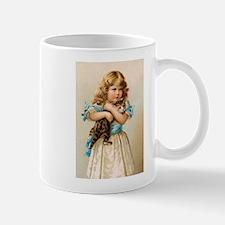 """Victorian Girl"" Mug"