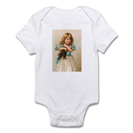 """Victorian Girl"" Infant Bodysuit"