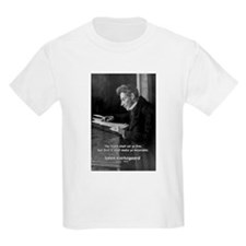 Truth Existentialist Kierkegaard Kids T-Shirt