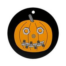 Structural Pumpkin Ornament (Round)