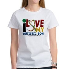 I Love My Autistic Son 2 Tee
