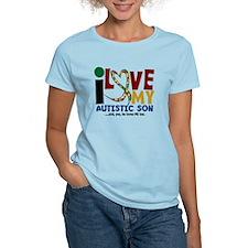 I Love My Autistic Son 2 T-Shirt