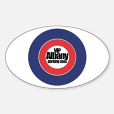 Albany VIP Parking - Oval Decal
