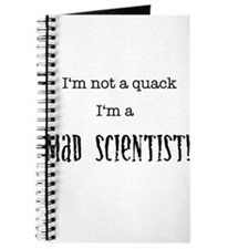 I'm not a quack... Journal