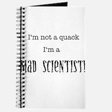 I'm not a quack... Journal