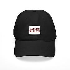 karlee rules Baseball Cap