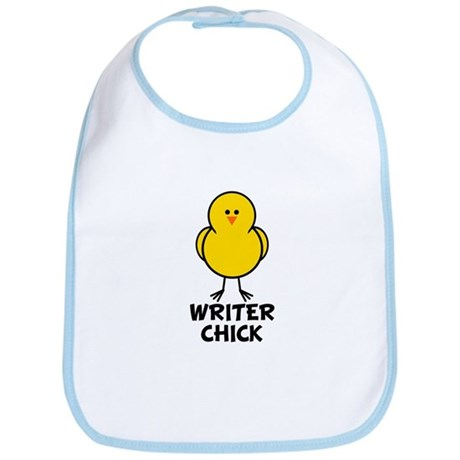 Writer Chick Bib