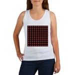 Scintillating Grid Women's Tank Top