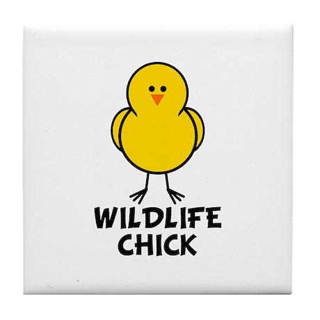 Wildlife Chick Tile Coaster