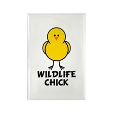 Wildlife Chick Rectangle Magnet (10 pack)