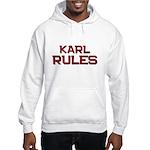 karl rules Hooded Sweatshirt