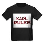karl rules Kids Dark T-Shirt