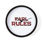 karl rules Wall Clock