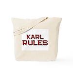 karl rules Tote Bag