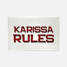 karissa rules Rectangle Magnet