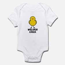 Welder Chick Infant Bodysuit
