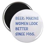 "Beer:making women look better 2.25"" Magnet (10 pac"