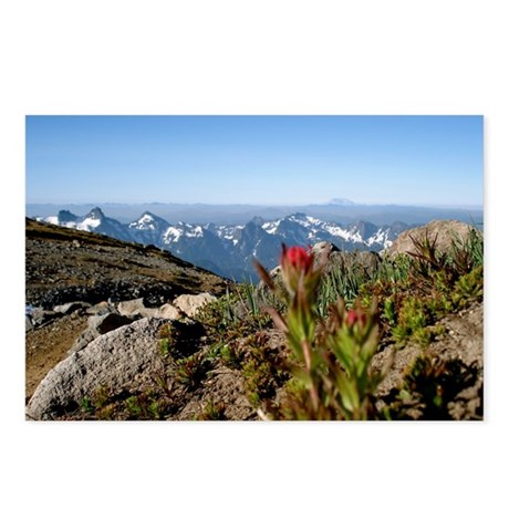 Mt. Rainier view South Postcards (Package of 8)