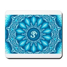 Blue Aum Mousepad