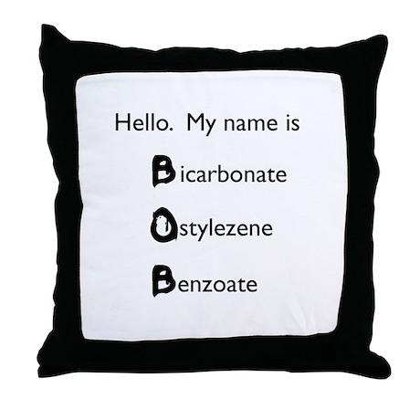 B.O.B. Throw Pillow