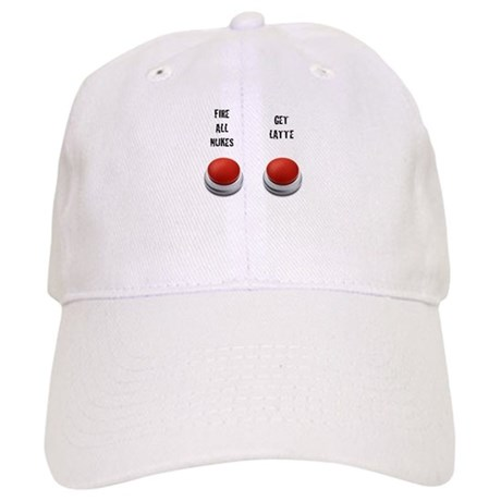 Red Button Cap