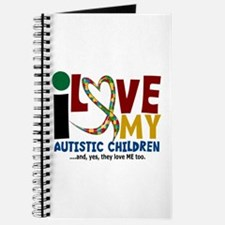 I Love My Autistic Children 2 Journal