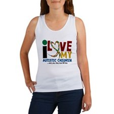 I Love My Autistic Children 2 Women's Tank Top