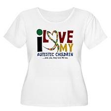 I Love My Autistic Children 2 T-Shirt