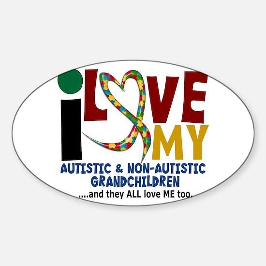 I Love My Autistic & NonAutistic Grandchildren 2 S