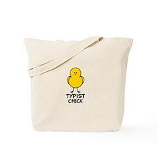 Typist Chick Tote Bag