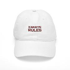kamryn rules Baseball Cap